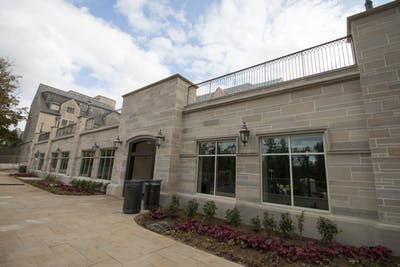 The outside entrance to the Goodbody Eatery is situated just beside the Ballantine Hall parking garage. From 11 a.m.- 8 p.m. and 11 a.m.-9 p.m., respectively, The Traveler at Goodbody Eatery and The Traveler at Bookmarket Eatery will be serving turkey day favorites, according to IU Dining's Twitter.