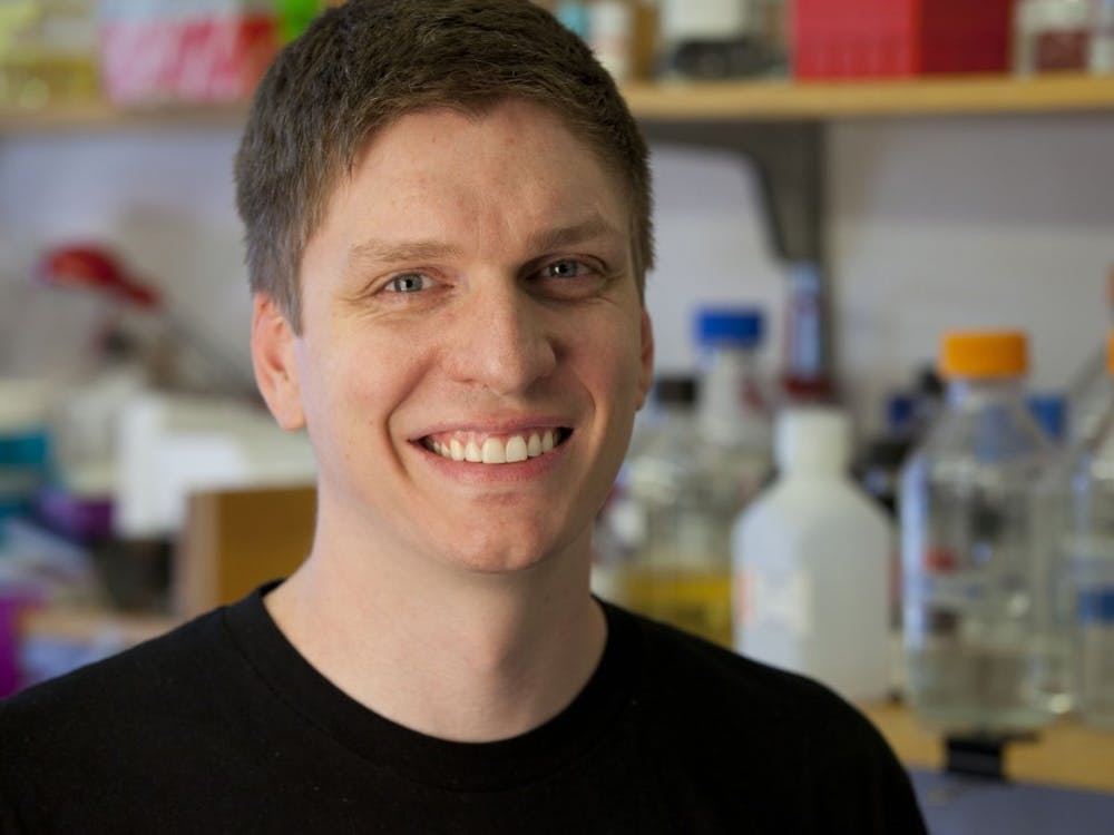 """IU biology professor Matt Bochman researches yeast and fermentation while starting """"Wild Pitch Yeast,"""" offering different yeast to breweries. The yeast is supposed to be cheaper and more environmentally friendly."""