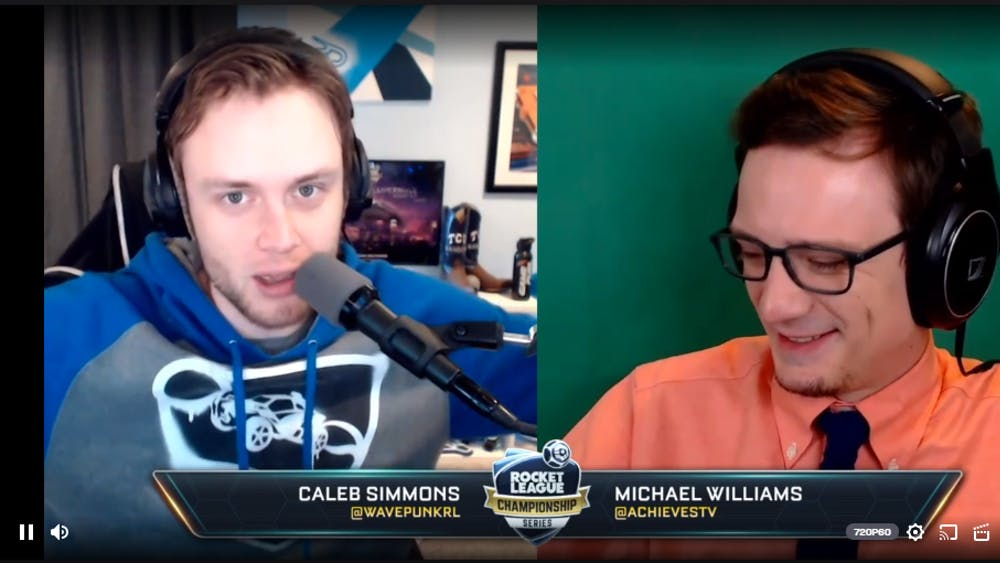 The Rocket League Championship Series broadcast was done online this weekend due to the coronavirus pandemic.