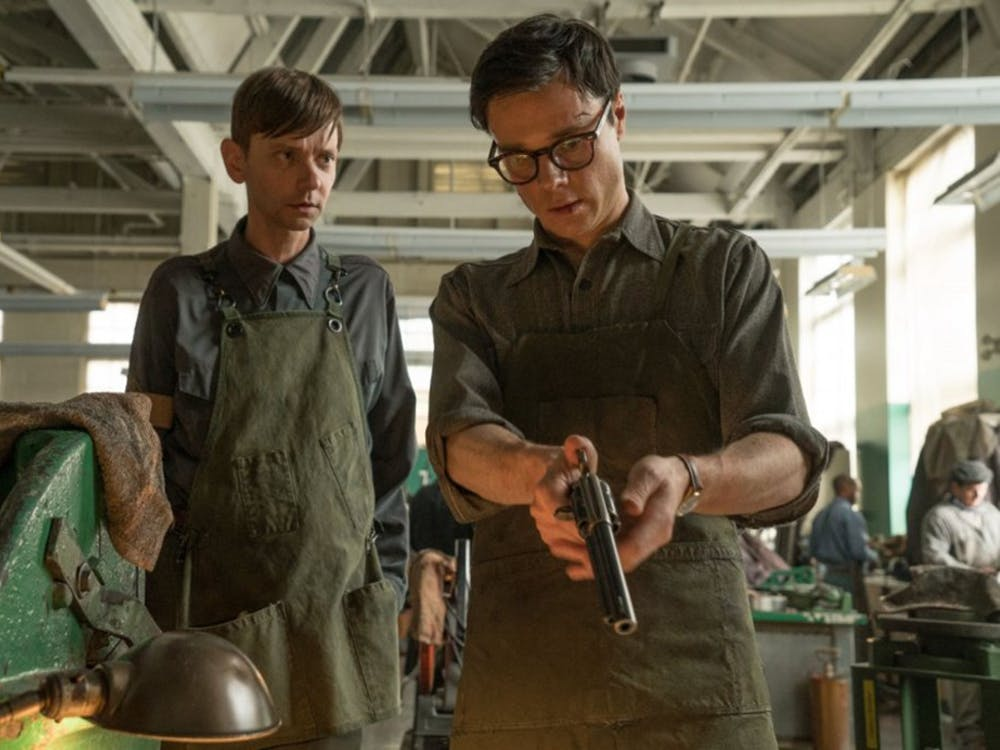 """DJ Qualls and Rupert Evans in """"The Man in the High Castle."""" (Photo courtesy Amazon Studios/TNS)"""