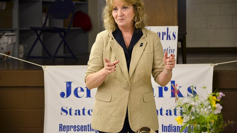Indiana Superintendent of Public Instructor Glenda Ritz is speaking at Monroe County Fairgrounds on Sept. 14. Ritz visited local democrats Saturday at the Monroe County Democratic Party headquarters.