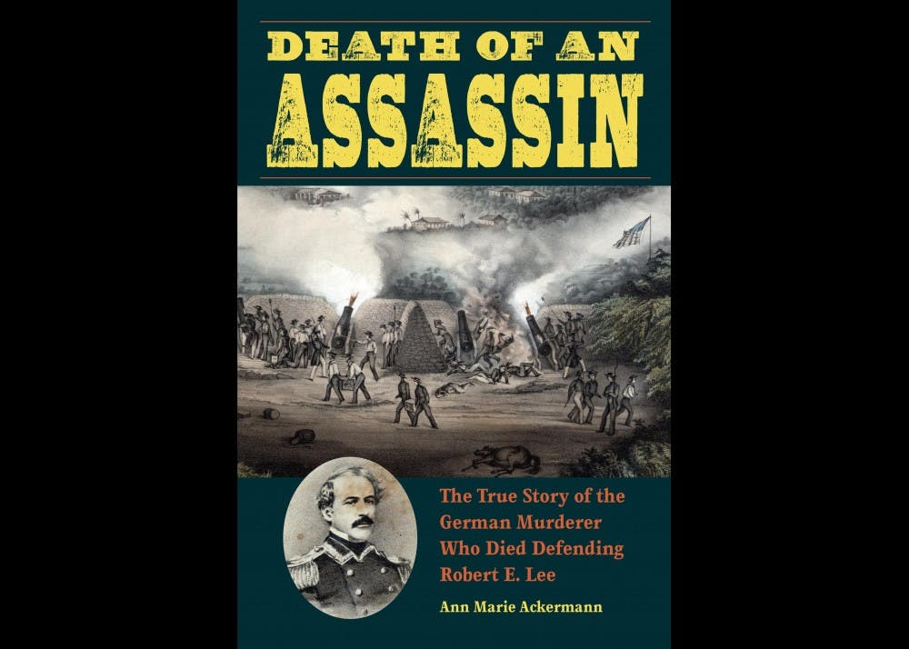 """<p>""""Death of an Assassin"""" is the true story of a German assassin who flees to America. He later dies in the Mexican American war, defending Robert E. Lee.</p>"""