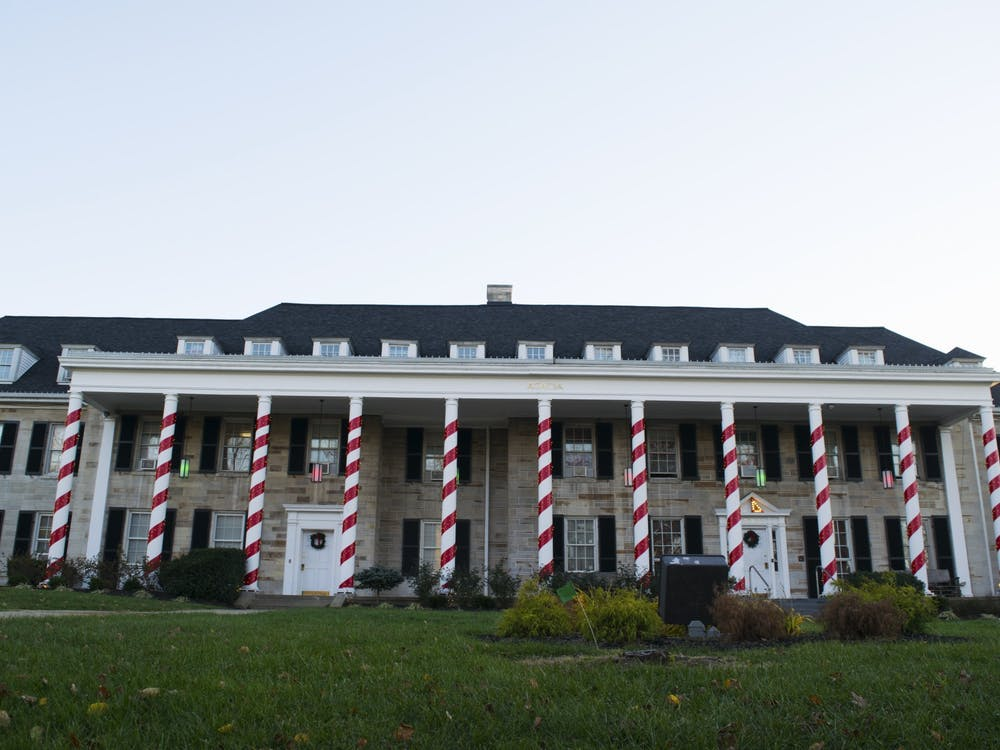 Acacia is located at 702 E. Third St. The fraternity's organization activities were suspended April 15.