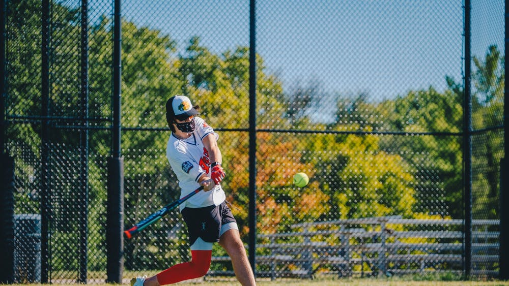 IU Recreational Sports hosted a home run derby for students Sunday to fill the void of competitive intramural sports events that are typically played in the fall.
