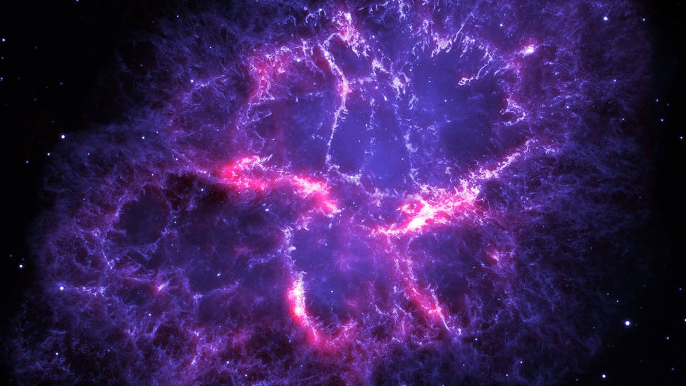 This image from the Hubble Space Telescope, released in Sept. 2009, is one among the largest the telescope has ever produced. It gives the most detailed view so far of the entire Crab Nebula.