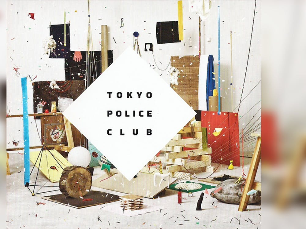 """The album cover for Tokyo Police Club's """"Champ"""" appears. The album was released in 2010 and recently had its 10th anniversary."""