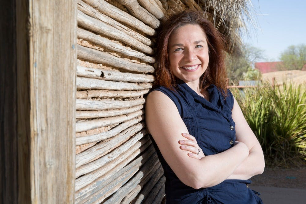 <p>Katharine Hayhoe will give a lecture 7:30-9 p.m. March 26 at the IU Fine Arts Building Auditorium. Hayhoe is a climate scientist known for speaking to academic and religious groups.</p>