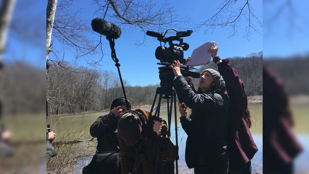 """Kasey Poracky directs """"Shift,"""" a film collaboration between the Media School and the Jacobs School of Music. The film will be screened at 7 p.m. Saturday at IU's annual student film festival, """"Montage,"""" at the IU Cinema."""