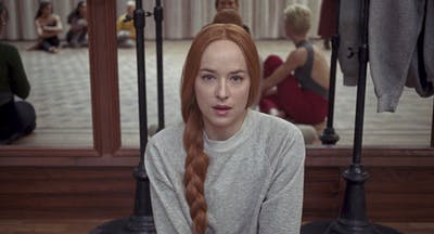 "Dakota Johnson stars in ""Suspiria."""