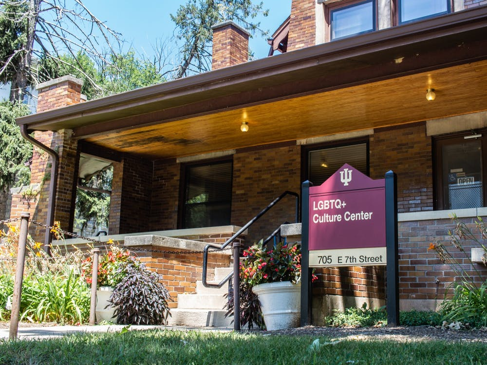 The LGBTQ+ Culture Center is located at 705 E. Seventh St. The center partnered with Indiana University Student Government to organize educational programs and social events celebrating LGBTQ+ History Month.