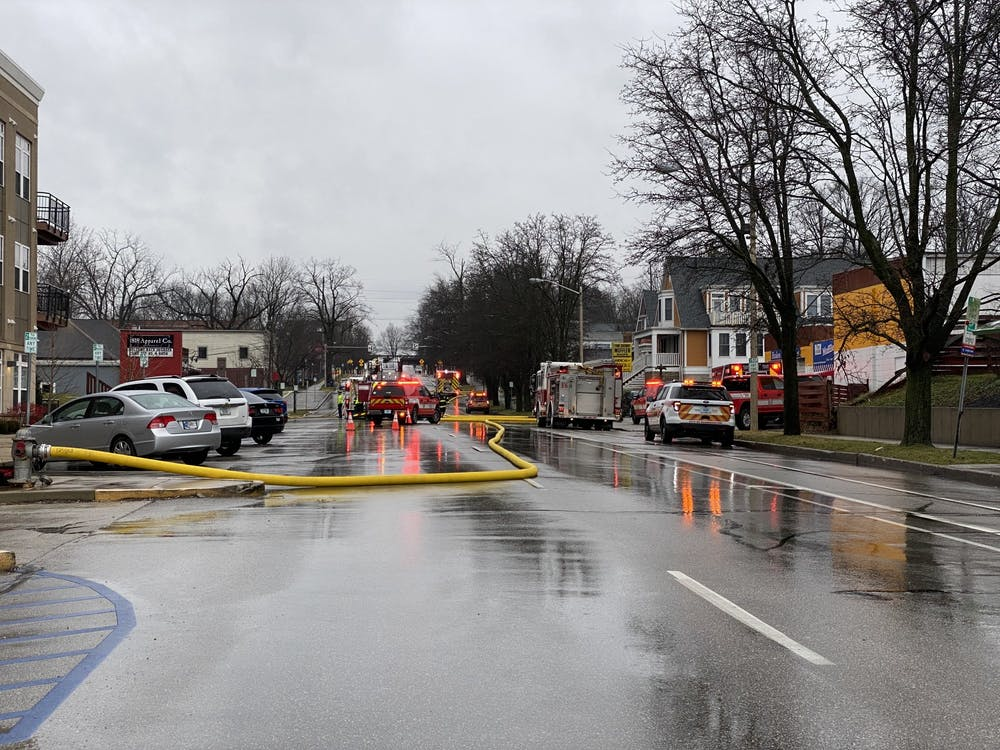 The 1200 block of North College Avenue was shut down Friday due to an abandoned house fire. According to Fire Prevention Officer Tom Figolah, nobody was injured.