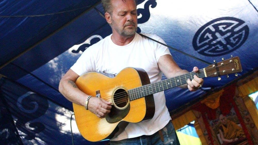 John Mellencamp performs for a small crowd at the Tibetan Mongolian Buddhist Cultural Center in 2016. John Mellencamp will give an acoustic performance as part of the 40th Anniversary of the TMBCC benefit celebration in December.