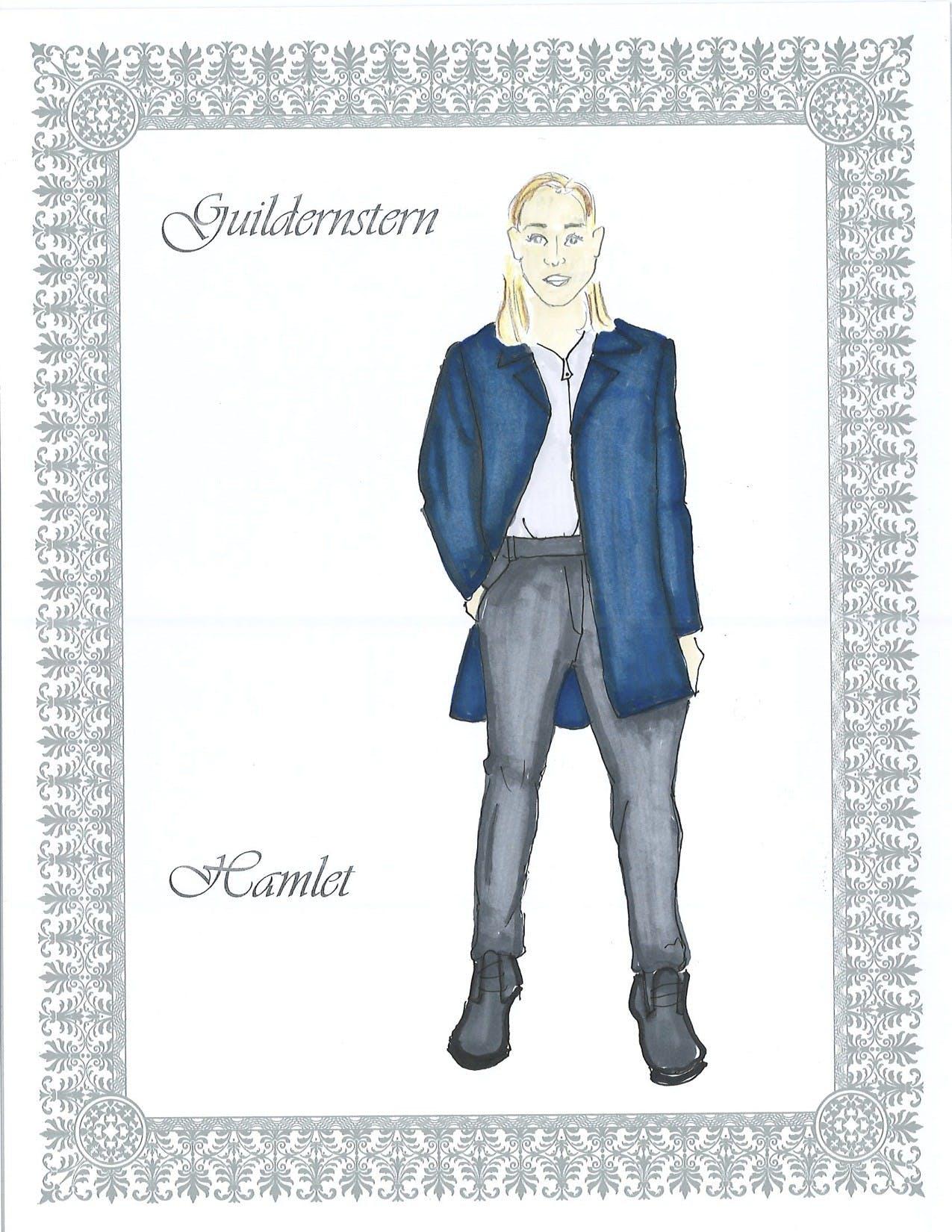 Guildernstern costume design