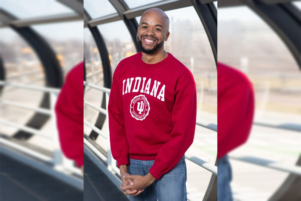 <p>Jeremy Morris, an adjunct law professor at the IU McKinney School of Law, poses for a headshot. Morris is running for a position on the IU Board of Trustees.</p>