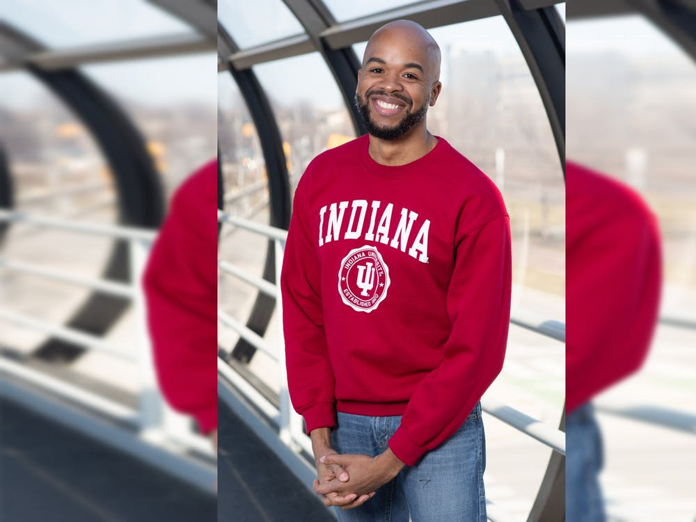 Jeremy Morris, an adjunct law professor at the IU McKinney School of Law, poses for a headshot. Morris is running for a position on the IU Board of Trustees.