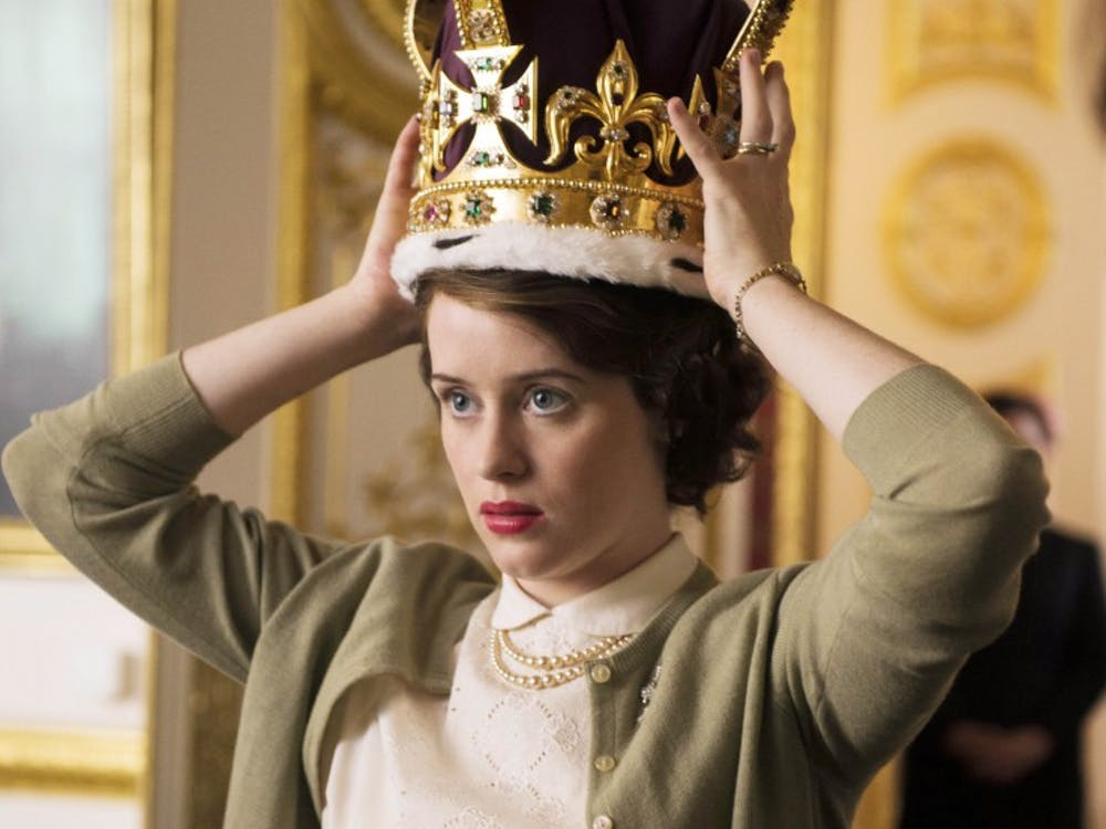 """Claire Foy plays the young, retiring princess who inherits the British throne when her father dies at 56 in """"The Crown,"""" premiering on Netflix Friday. (Netflix)"""