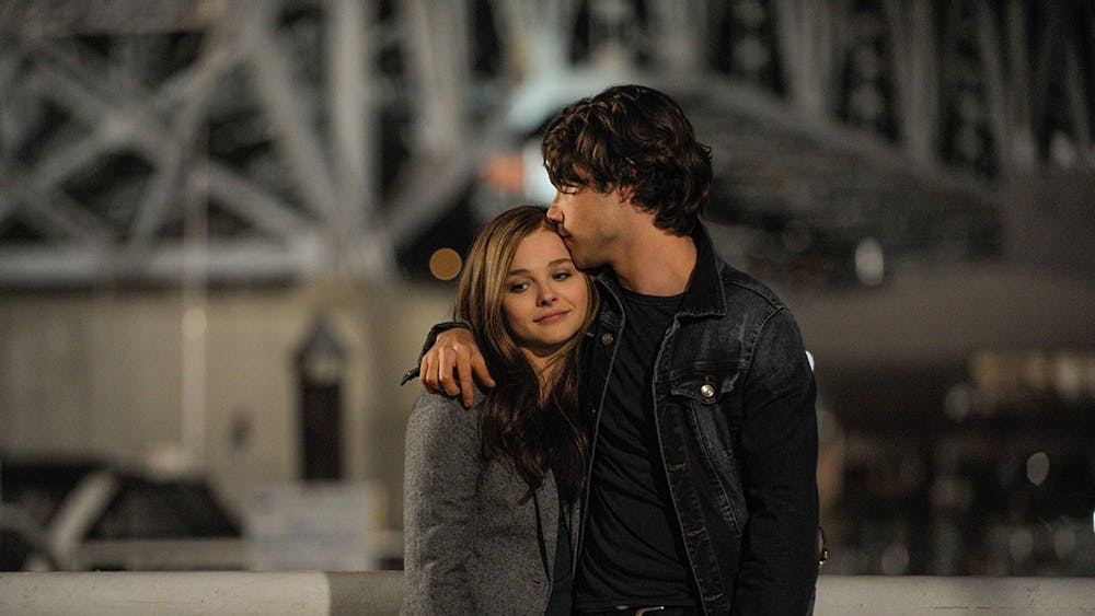 """Chloe Grace Moretz and Jamie Blackley star as Mia and Adam in """"If I Stay,"""" a film adaptation of Gayle Forman's novel. (Doane Gregory/Warner Brothers/New Line Cinema/MGM/MCT)"""