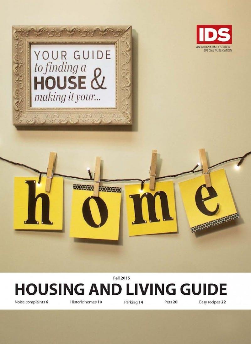 Fall 2015 Housing & Living Guide