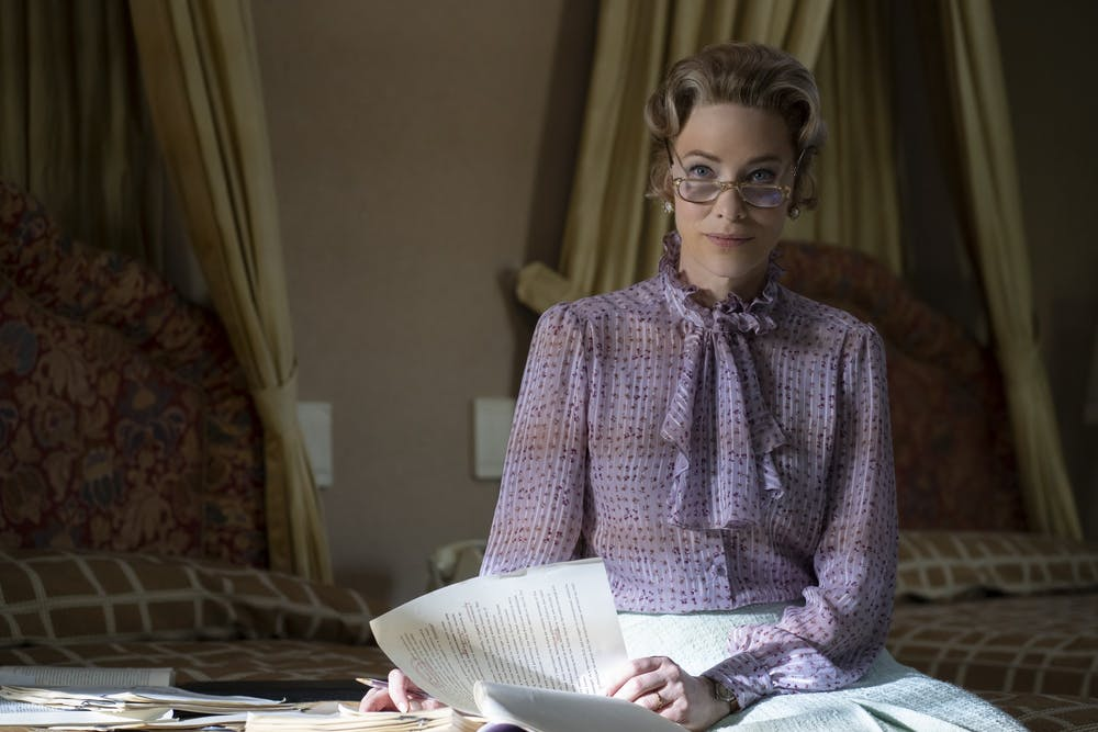 <p>Cate Blanchett plays Phyllis Schlafly on FX&#x27;s &quot;Mrs. America.&quot; Schlafly was known for her conservative and anti-feminist views.</p>