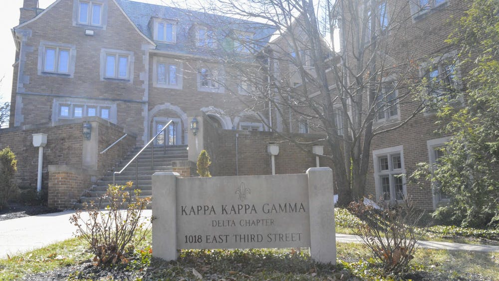 Kappa Kappa Gamma is located on E. 3rd Street. The sorority has been on IU's campus since 1872.