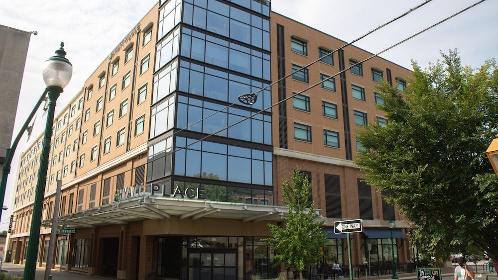 The Hyatt Place hotel is located at 217 W. Kirkwood Ave. Hotels in Bloomington have rented housing for students for the 2020-21 school year.