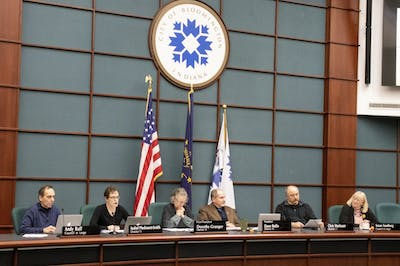 The Bloomington City Council met Feb. 20 in City Hall.