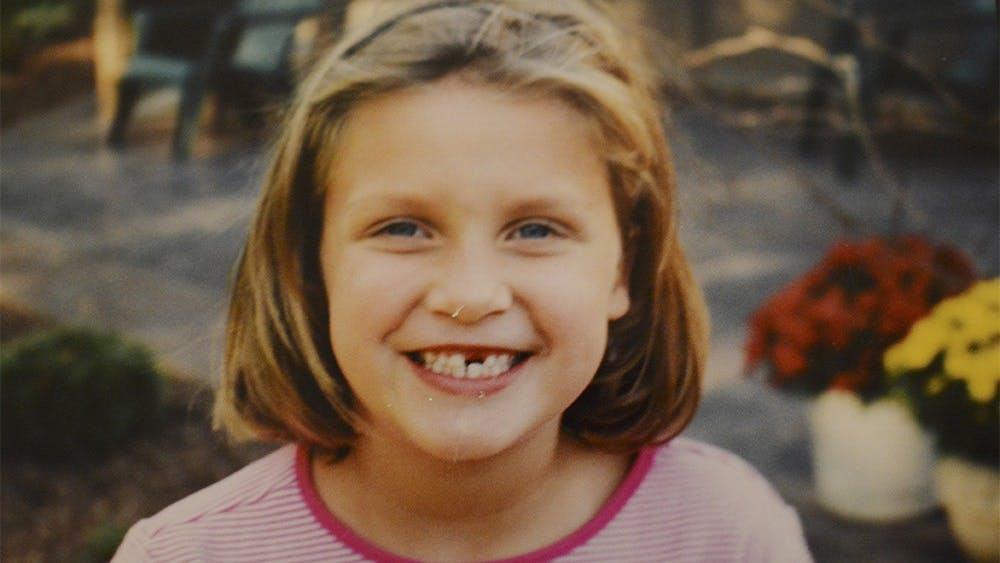 Hannah Wilson as a child.