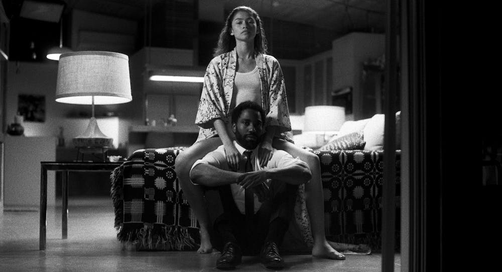 <p>A movie still from Netflix&#x27;s &quot;Malcom &amp; Marie&quot; is pictured. The film was dropped on Netflix on Feb. 5.</p>
