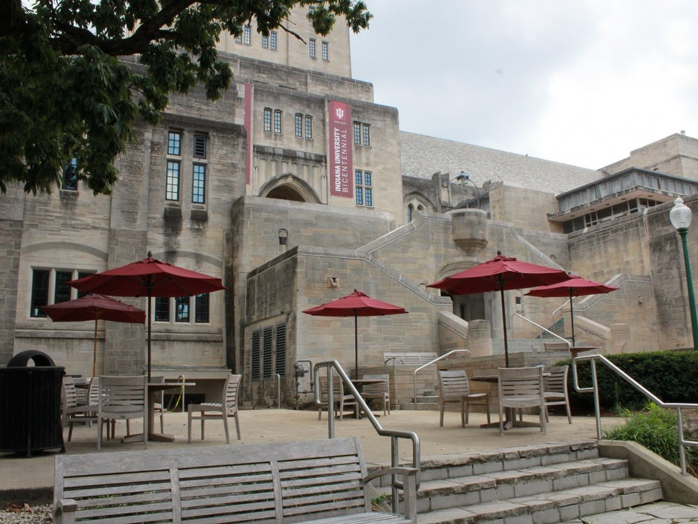 The outside of the Indiana Memorial Union is pictured. IU freshman Agness Lungu experienced verbal racism March 18 outside of the IMU.