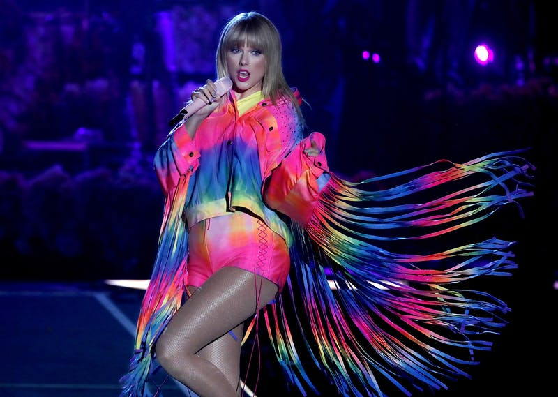 Taylor Swift performs June 1 at the Dignity Health Sports Park in Carson, California.