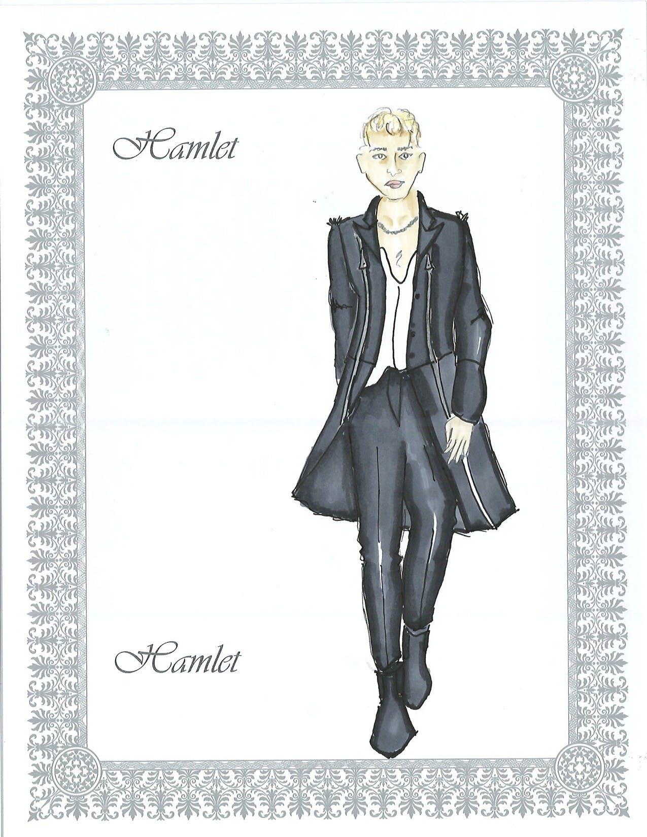 Hamlet costume design