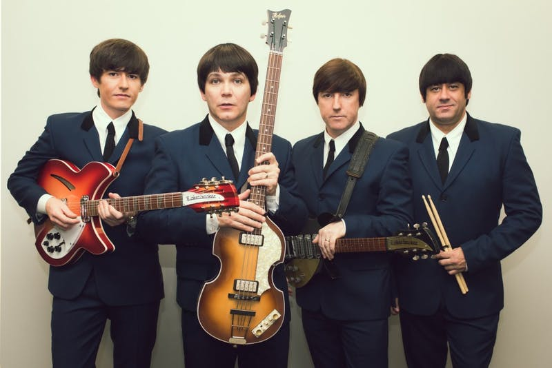 The Mersey Beatles, an all-Liverpool-born Beatles tribute band, will perform in Bloomington in October. The performance will be Oct. 12 at the Buskirk-Chumley Theater.