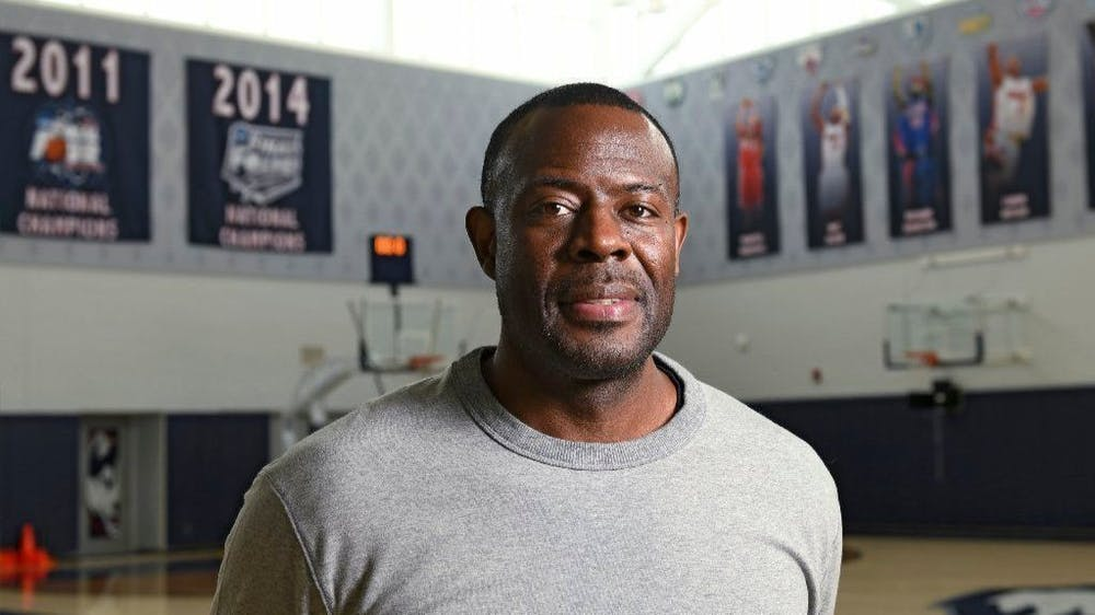 <p>IU men&#x27;s basketball assistant coach Kenya Hunter is pictured. Hunter is in his second season of being on the Hoosiers&#x27; coaching staff.</p>