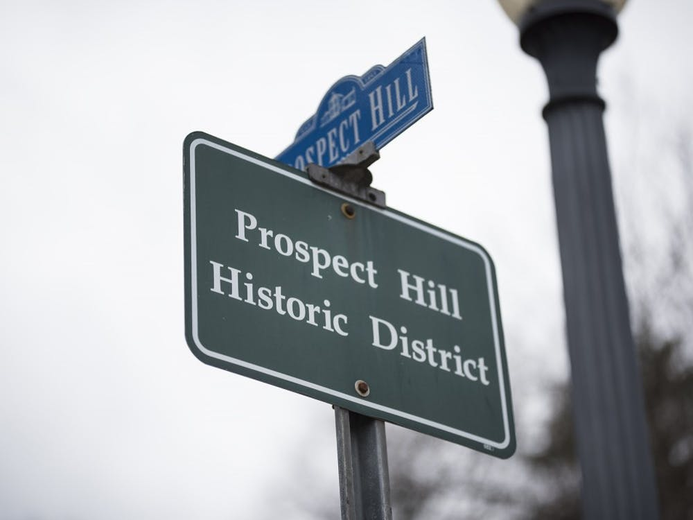Prospect Hill historic district is located minutes from downtown Bloomington. Homeowners in historic districts must get any change to their houses, including installing solar panels, approved by the Historic Preservation Commission.