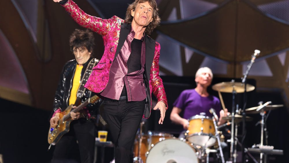 The Rolling Stones's Mick Jagger performs June 12, 2015, at the Citrus Bowl in Orlando.