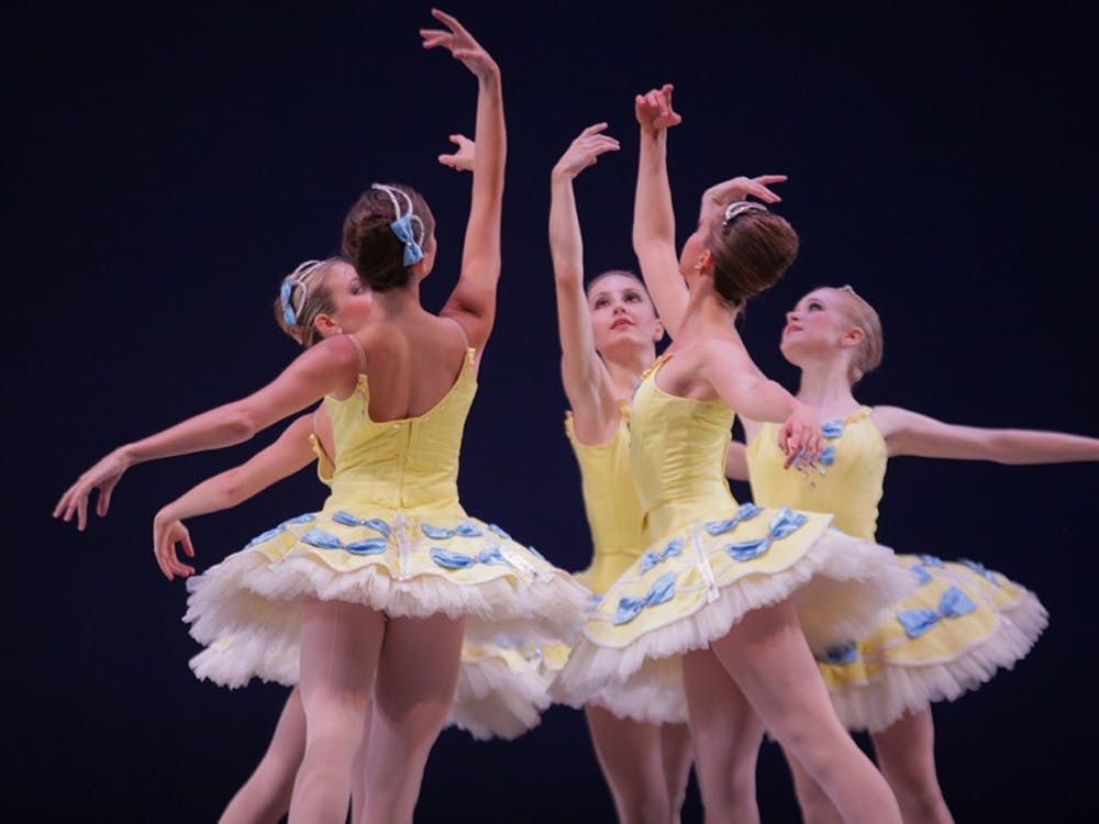 The Indiana University Ballet Company performs a dress rehearsal for the fall show, 'As Time Goes By.' The show runs September 30th and October 1st.