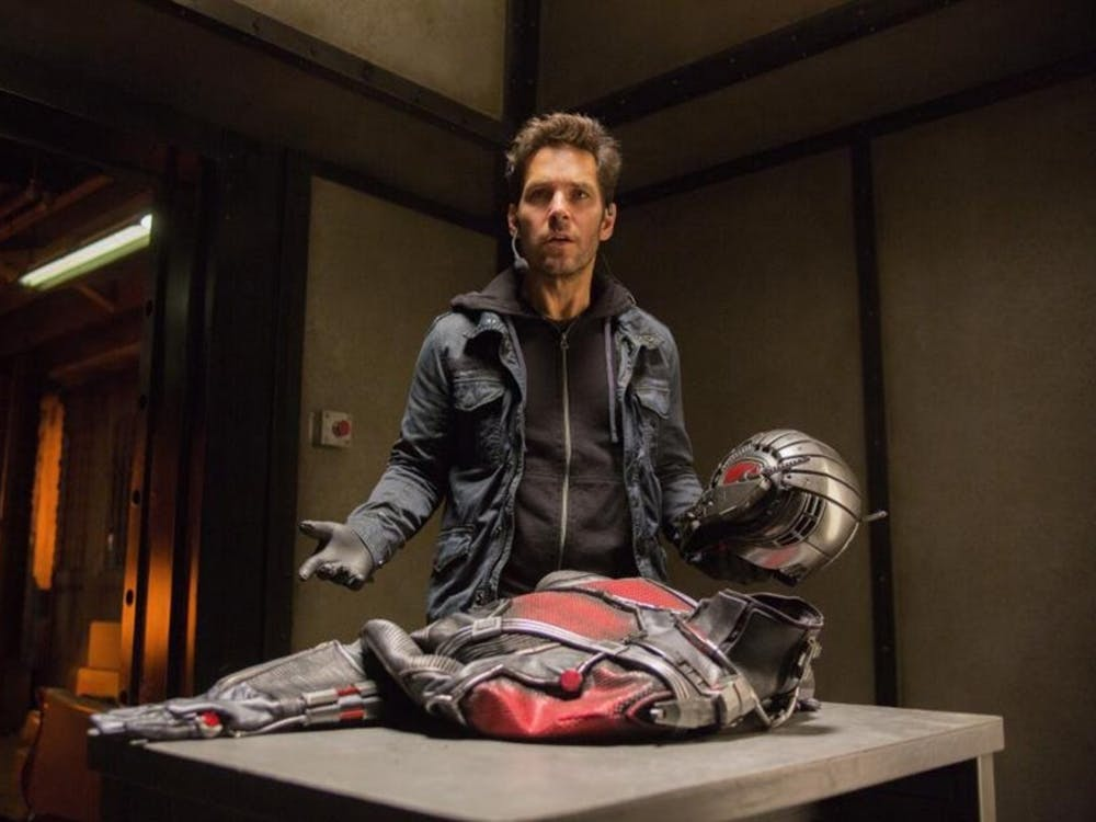 """Paul Rudd plays the role of Scott Lang, a.k.a. Ant-Man, in """"Ant-Man."""" (Photo courtesy Marvel Studios/TNS)"""