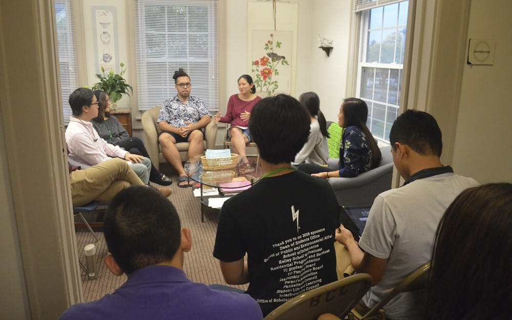 The Asian Cultural Canter hosted a pannel disscussion about the burden being an Asian America Wednesday evening at the Asian Cultural Center.