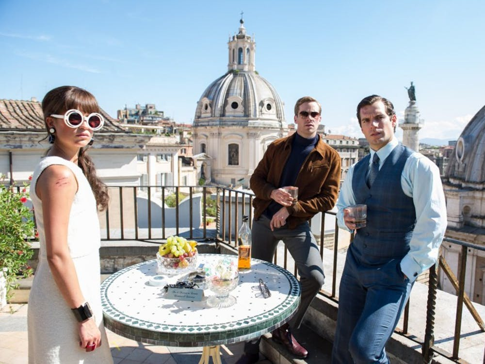 """Alicia Vikander, Armie Hammer and Henry Cavill in """"The Man from U.N.C.L.E."""" (Daniel Smith/Warner Bros. Entertainment/TNS)"""