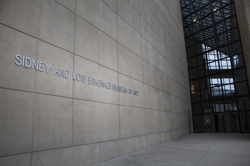 <p>The Sidney and Lois Eskenazi Museum of Art is located at 1133 E. 7th St. The Eskenazi Museum and the Speed Art Museum will host a virtual conversation about women in politics and art Tuesday at 6:30 p.m. </p>