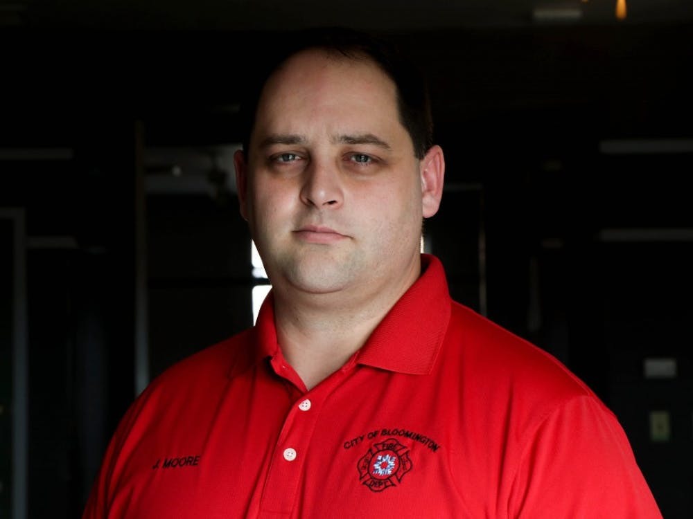 """Bloomington Fire Chief Jason Moore is attempting to set up a support program to help firefighters feel more comfortable sharing their struggles with mental health. """"In our profession, we are supposed to help everyone,"""" he said, """"It's really hard to admit we need help."""""""