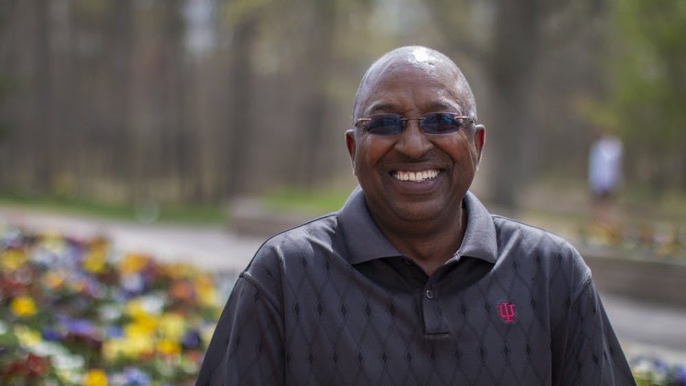 Jim Sims, 62, is running for re-election for one of three at-large Bloomington City Council seats. Sims became the second African American to ever serve on Bloomington's City Council when he was caucused in to replace a retiring council member in 2017.