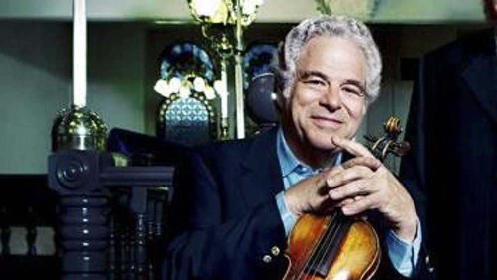 Itzhak Perlman will be performing tonight at 8 p.m. at the IU Auditorium.
