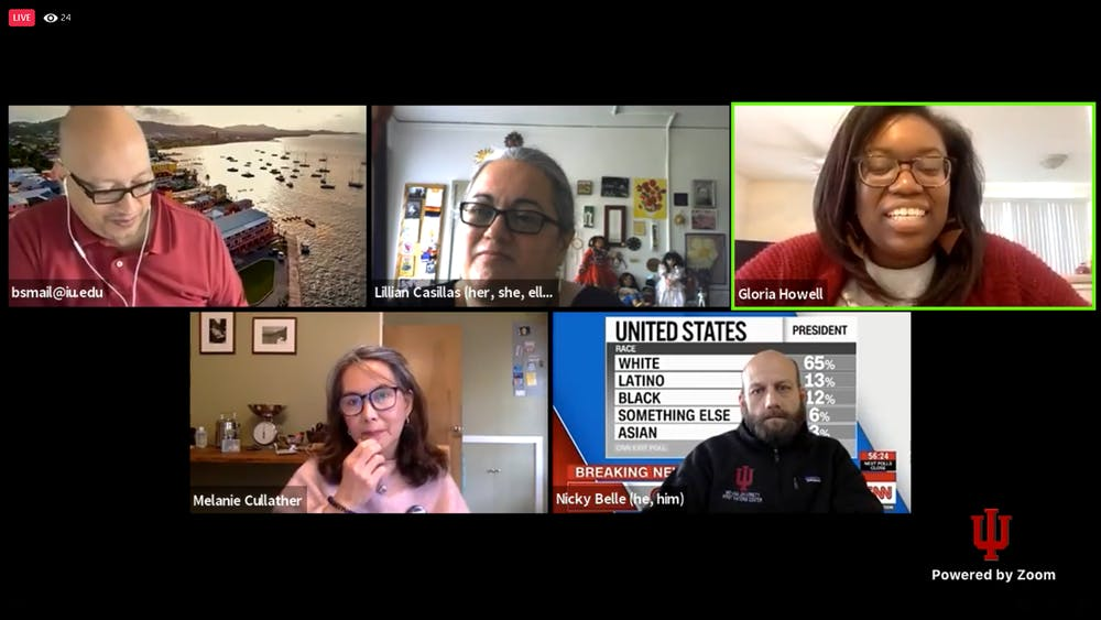 <p>The IU Culture Center directors discussed their thoughts about the 2020 election results, the effect on their communities and how they can serve their communities as the country moves forward during a Facebook live Thursday afternoon.</p>