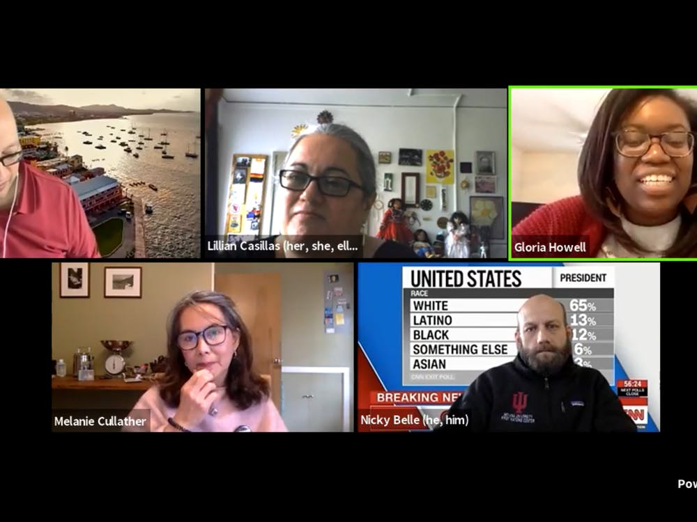 The IU Culture Center directors discussed their thoughts about the 2020 election results, the effect on their communities and how they can serve their communities as the country moves forward during a Facebook live Thursday afternoon.