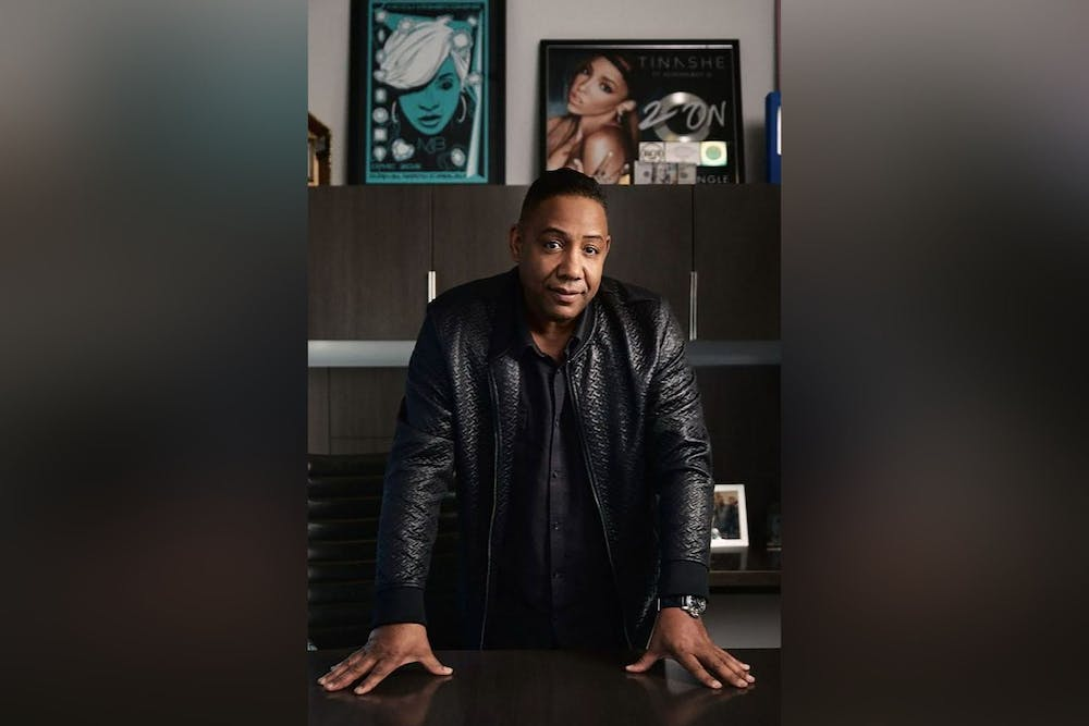 Mark Cheatham, co-head of Global Hip-Hop/R&B touring division with the Creative Artist Agency, poses for a photo. Cheatham has been with the company since 2008 and has worked with Cardi B, Lil Baby, A Boogie Wit Da Hoodie, Saweetie and Brandy, among others.