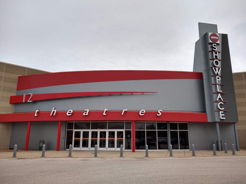 The entrance to the AMC Classic Bloomington 12 is seen Saturday. The theater reopened recently after closing temporarily due to the coronavirus pandemic.
