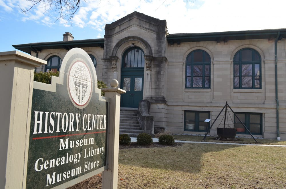 The Monroe County History Center is located on East Sixth Street. MCHC announced the hiring of its new director, Daniel Schlegel, Jr. on Tuesday.