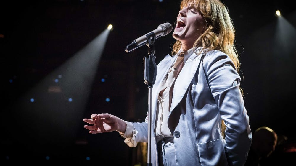 Florence Welch of Florence and The Machine performs live on stage as part of the Apple Music Festival 2015 on Sept. 28, 2015 at the Roundhouse in Camden, London.