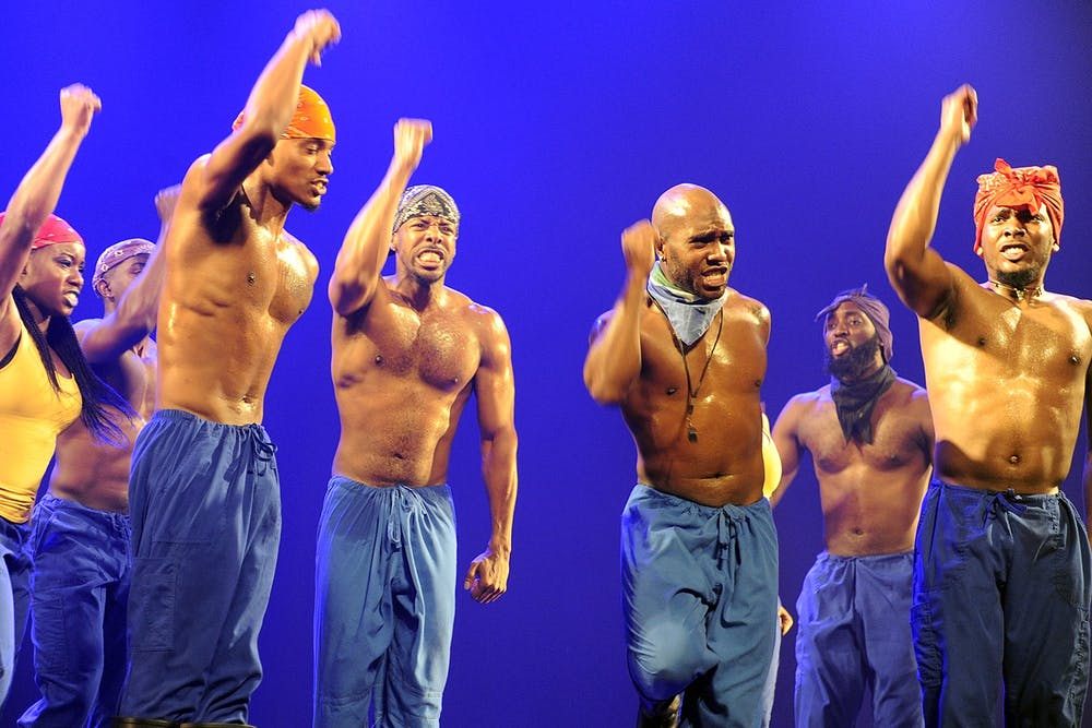 <p>Step Afrika performs on April 12, 2016, at the U.S. Embassy in Jerusalem, Israel. The dance company will perform April 24 at Kinsey Hollow Open Air Venue.</p>